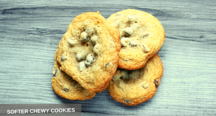 SOFTER CHEWY COOKIES
