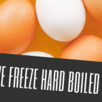 can we freeze hard boiled eggs