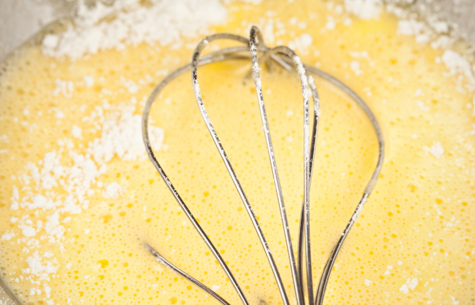 WHISK ALL THE INGREDIENTS TOGETHER