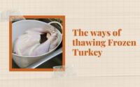 The ways of thawing Frozen Turkey