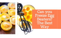 Can you Freeze Egg Beaters? The Best Way