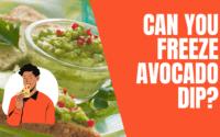 Freeze Avocado Dip