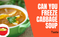 Can you Freeze Cabbage Soup