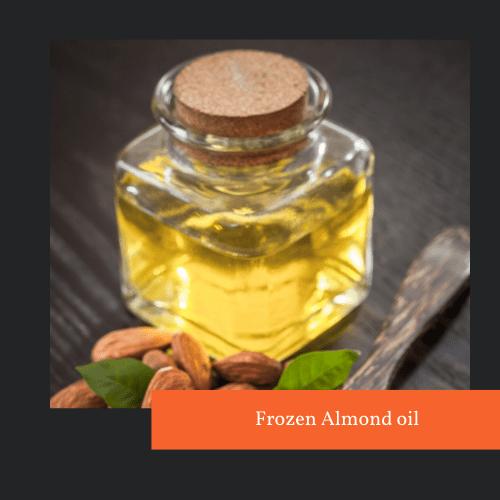 Frozen Almond oil